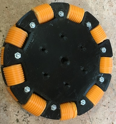 The multi directional wheel used to move ArduRobot
