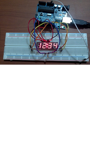 Multiplexing with 7Segs display